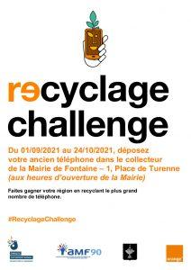 Challenge Collecte anciens téléphones